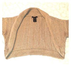 🌟 NY&Co gold sweater shrug
